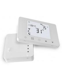 Bezdrôtový termostat biely wifi