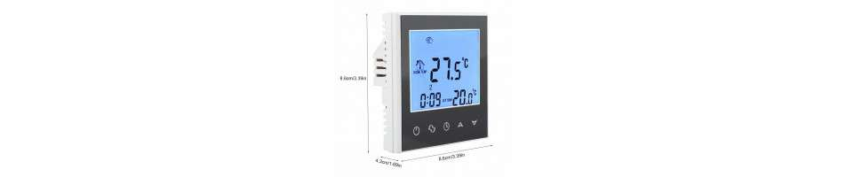 Thermostats, residential ventilation.